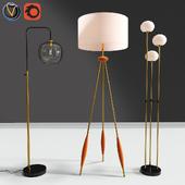 Modern Floor Lamps Set