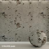 Бетонная стена. Старый бетон. 111