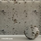 Concrete wall. Old concrete. 111