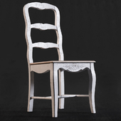 Rimini White Chair