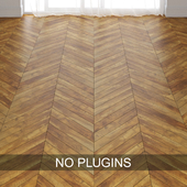 Old Pine Wood Parquet Floor Tiles vol.002 in 3 types