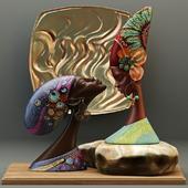 "African sculptures - Factory ""DesignToscano"""
