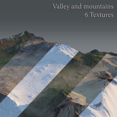Valley and mountains
