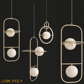 China Contemporary Gold Hanging Light Lamp