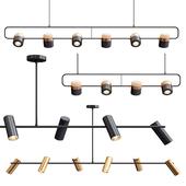 Obie Diner & Ling PL6 Linear Suspension Light