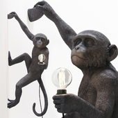 The Monkey Lamp Hanging Version Right