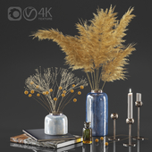 Dry plant decor set