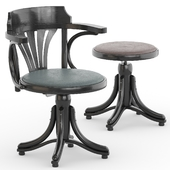 revolving armchair kontor 523_stool piano