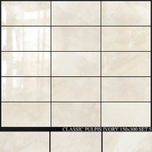 Yurtbay Seramik Classic Pulpis Ivory 150x300 Set 5
