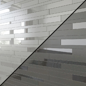 Decorative elements Porcelain tile ATLAS CONCORDE ARKSHADE Brick