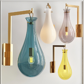 Бра Patrick Naggar Bubble Sconce blue designed by Patrick Naggar