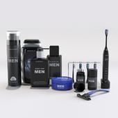 Man's set for a bathroom