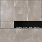 Yurtbay Seramik Classic Pulpis Grey 300x600 Set 1
