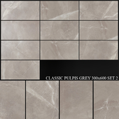 Yurtbay Seramik Classic Pulpis Grey 300x600 Set 2