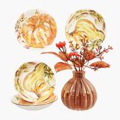 Декоративный набор Pumpkin Set 02