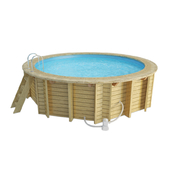 Wooden Round Swimming Pool
