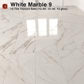 White Marble Tiles - 9