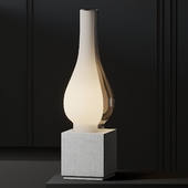 Karman Concrete Amarcord Table Lamp By Matteo Ugolini