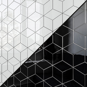 Ceramic wall tile EQUIPE RHOMBUS Wall 7 colors