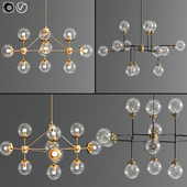 Modern Ceiling ChandilIer Set 2