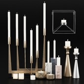 candle holders set