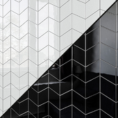 Ceramic wall tile EQUIPE RHOMBUS Wall 3 7 variants