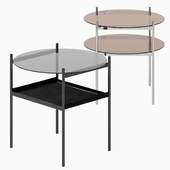 Duotone Rectangular Side Table 3