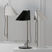 Louis Poulsen ALUMINUM BRASS Table Lamp