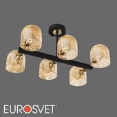 OM Ceiling chandelier in the loft style Eurosvet 70103/6 Wade