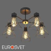ОМ Потолочная люстра в стиле лофт Eurosvet 70107/5 Trappola