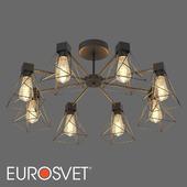 ОМ Потолочная люстра в стиле лофт Eurosvet 70107/8 Trappola