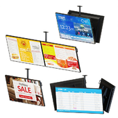 Ceiling Mount Information Displays