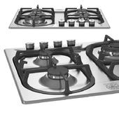 60 4-Burners, Triple Ring 4 kW Wok Burner