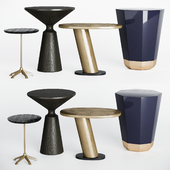 Arteriors side round tables set