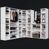 Storage cabinet Pottery Barn SUTTON CLOSET TOWER SET