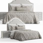 Basset Barcelona Bonnet Headboard Bed