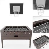 table football and basketball Hoop