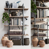 Стеллаж Pottery Barn HOUSTON BOOKCASE