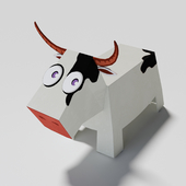 paper cow