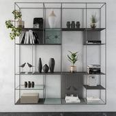 Metal Shelves Decorative