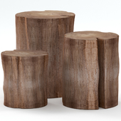 A collection of stump tables.
