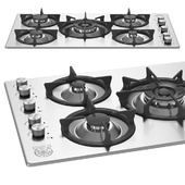 90 5-Burners Individual Pan Supports