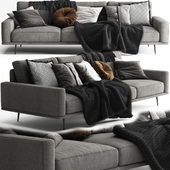 BoConcept Carlton Sofa 3 Seats - Scandinavian Set