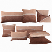 Pillows by Restoration Hardware Hand-Painted Watercolor