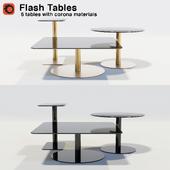 Tom Dixon Flash Tables