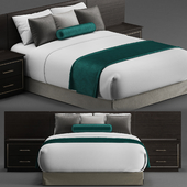 Hotel guest room bed 2
