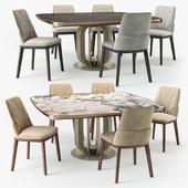 Cattelan Italia Belinda chair Soho table