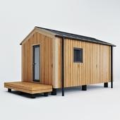 Modular house.