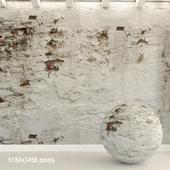 Кирпичная стена. Старый кирпич. 93