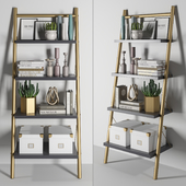 Bookcase Decor Set 1
